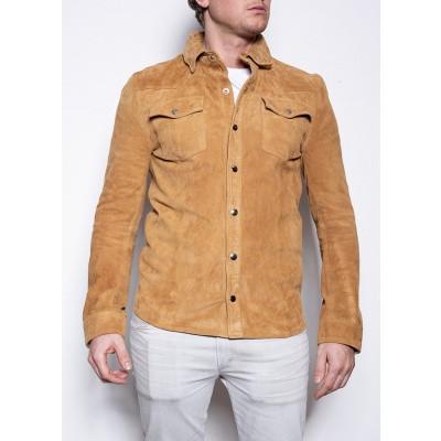 Goosecraft Appold Shirt Congac