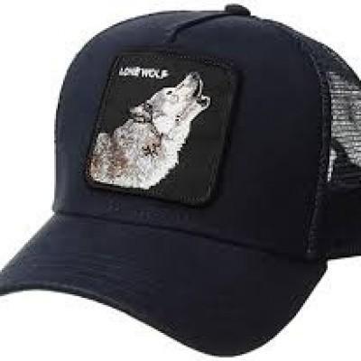 Foto van Goorin Bros Cap Lone Wolf Navy