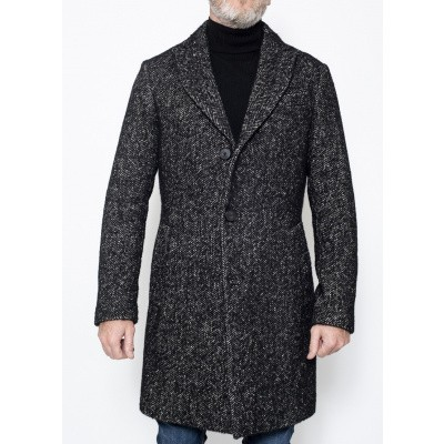Aglini Colincim Coat Black/Grey