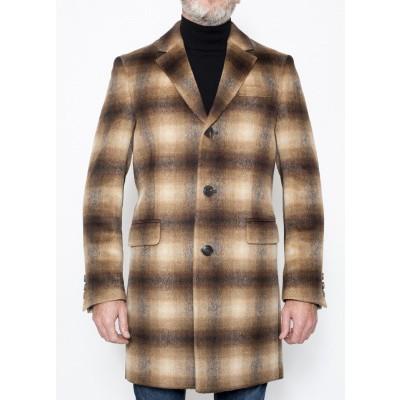 Foto van Drykorn Blacot Coat Brown Check