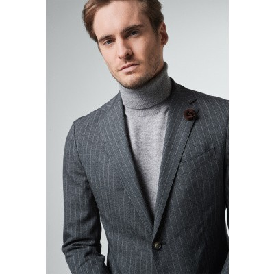 Foto van Windsor Travel-W Jacket Grey Striped