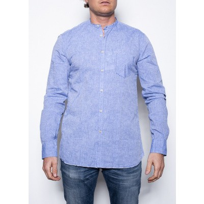 AGLINI MARIO Blue Shirt