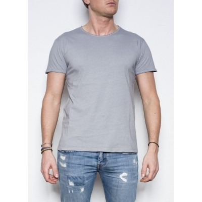 Foto van Kris K O-Neck T-Shirt Grey