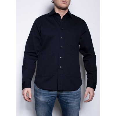 Aspesi Over Shirt Navy