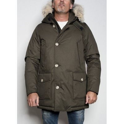 Foto van Woolrich Arctic Laminated Parka Olive