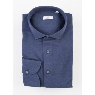 100Hands Navy Blue jersey knit