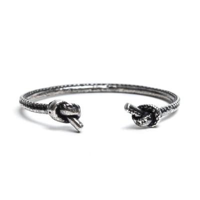 Foto van Damico Two Knots Bracelet Silver