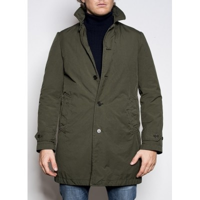 Aspesi Raincoat Vodka Green
