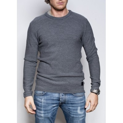 Blue de Genes Tondo Knit Grey