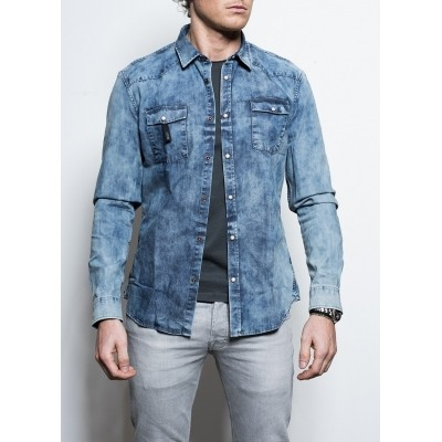 Drykorn Bent Shirt Denim