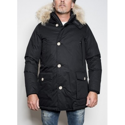 Woolrich Arctic Laminated Parka Black