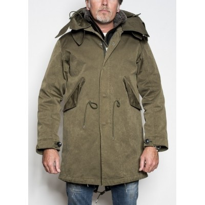 Ten c Parka Dark Olive