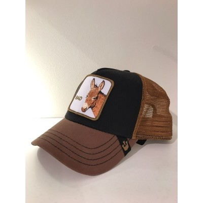 Baseball Cap Donkey Bad Brown/Black