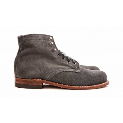 Wolverine 1000Mile Grey Suede