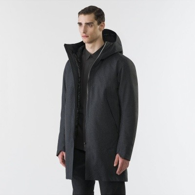 Arc'Teryx Veilance Monitor Down coat TW Charcoal Heather