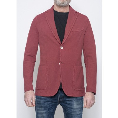Circolo Piquet Jacket Earth Red