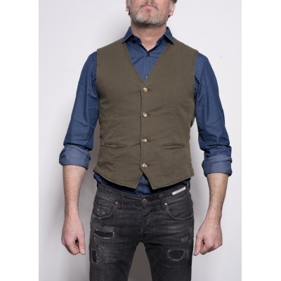 Foto van Four Ten Gilet Olive