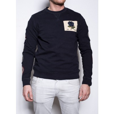Kent & Curwen K&C Patches Sweat