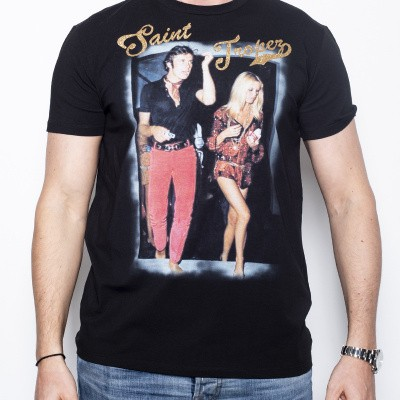 L'EDITION T-shirt Black Saint Tropez