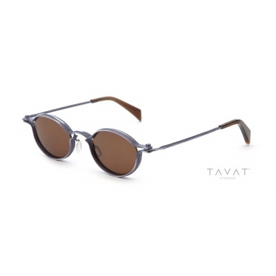 TAVAT Oval M Denim/Bronze
