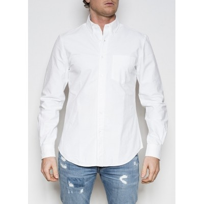 Aspesi Camicia Down White