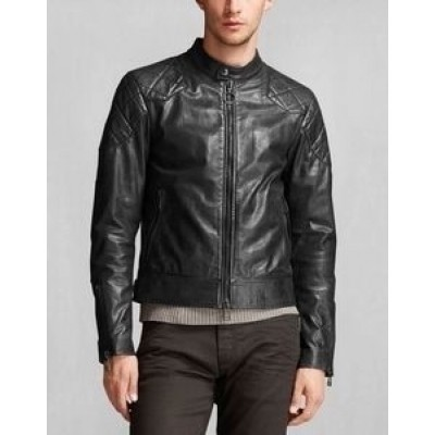 Belstaff Outlaw Black Leather