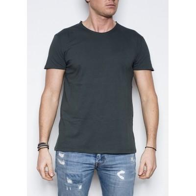 Kris K O-Neck T-Shirt Antra/Green