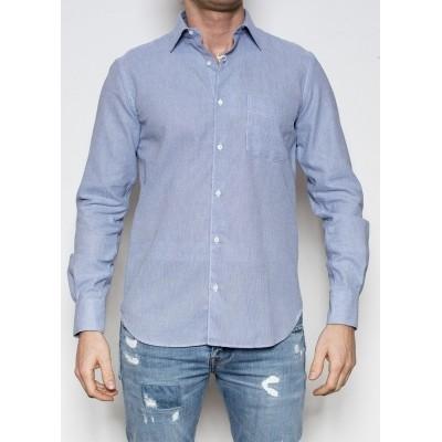 Foto van Aspesi Shirt Camicia MidBlue