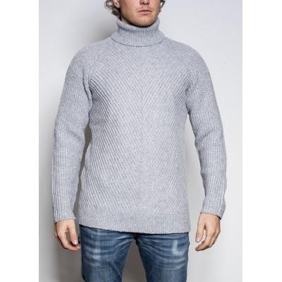 Denham Elka Knit Col Grey