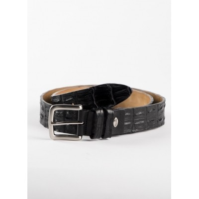 Fashion Belt Croco Black