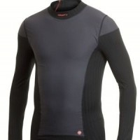 Foto van craft be active extreme windstopper shirt lange mouw/zwart/heren