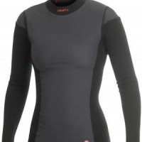 Foto van craft be active extreme windstopper shirt lange mouw/zwart/dames