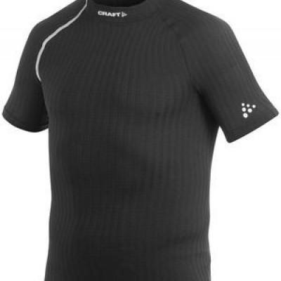 craft be active extreme shirt korte mouw/zwart/heren