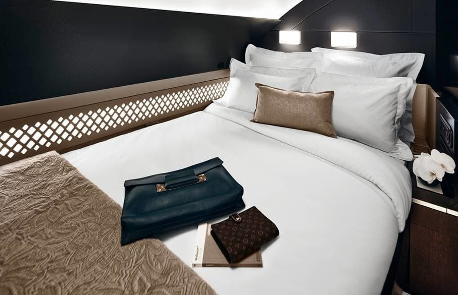 Etihad First Class Bed