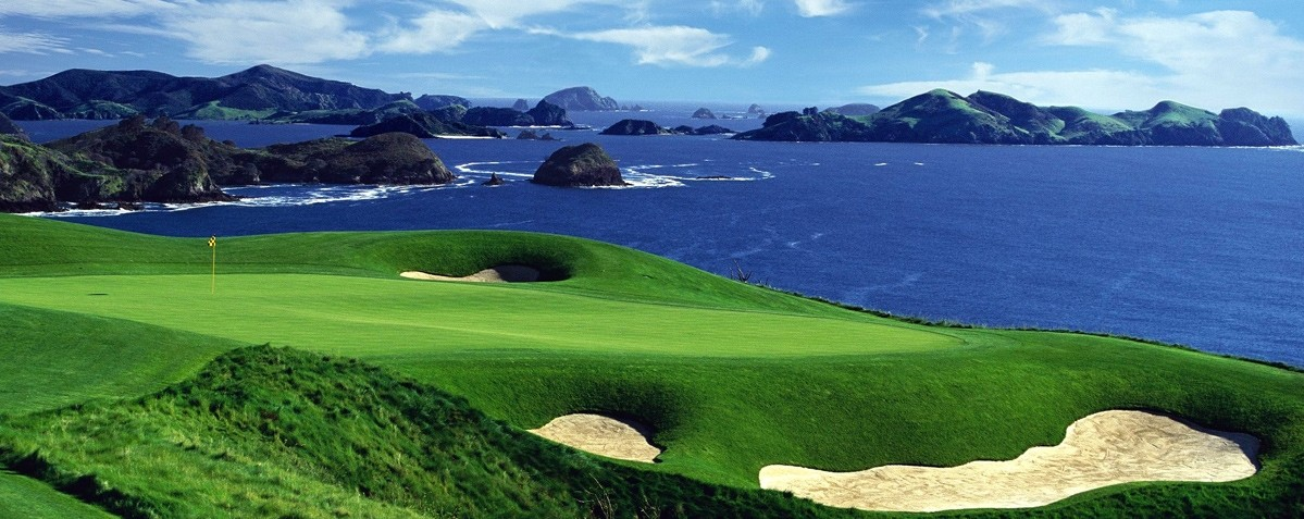 Best Golf Beach Resorts in the World - Kauri Cliffs, New Zealand