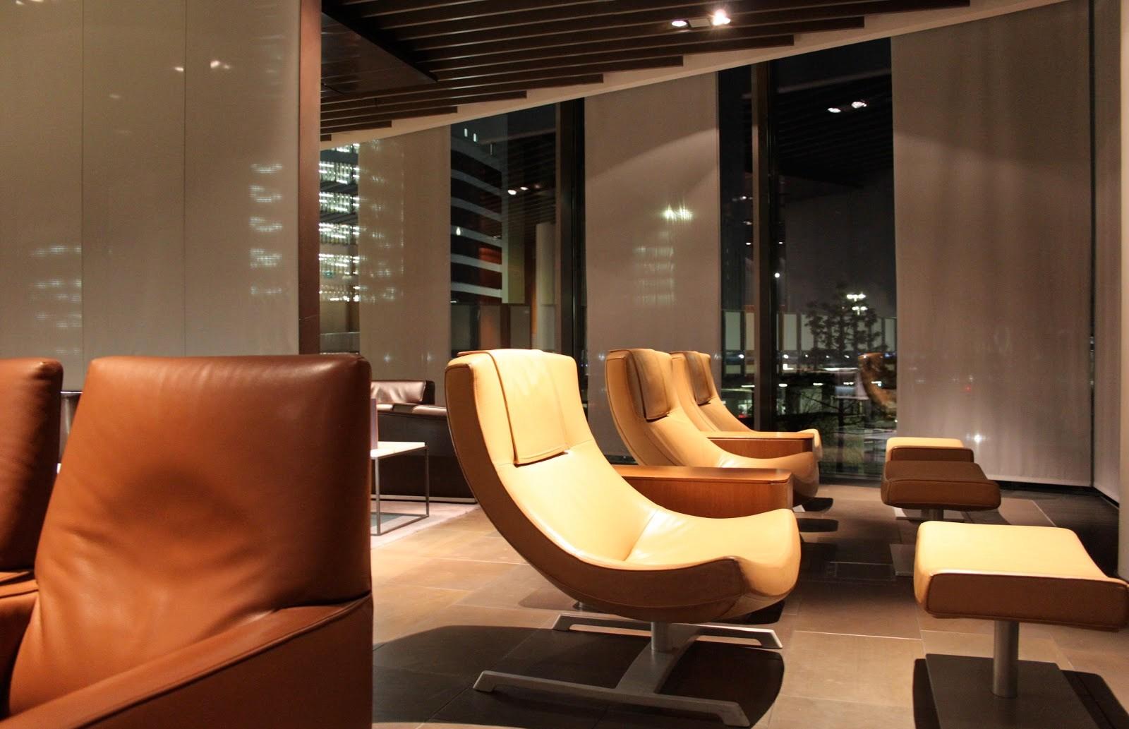 Lufthansa First Class Lounge Frankfurt