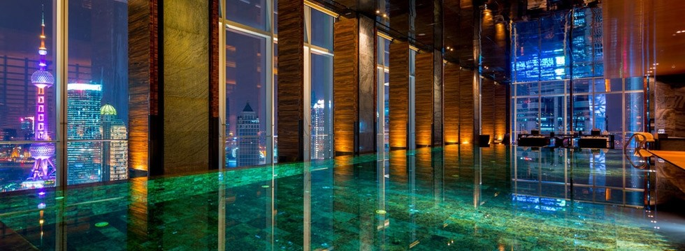 Four seasons Shanghai swimming pool