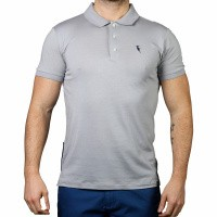 Polo Shirt Pompano Grey