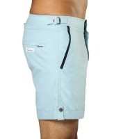 Afbeelding van Swim Short Tampa Stripes Maya Blue