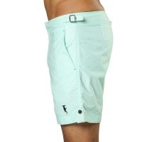 Bild von Badeshort Tampa Stripes Hint of Mint