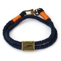Orlando Armband Blau/Orange