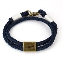 Armband Orlando Blauw/Wit