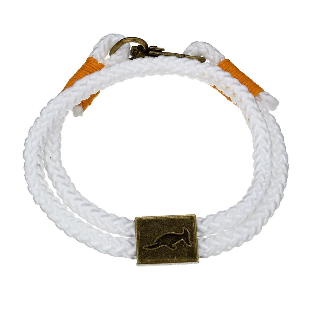 Bracelet Orlando Blanc/Orange