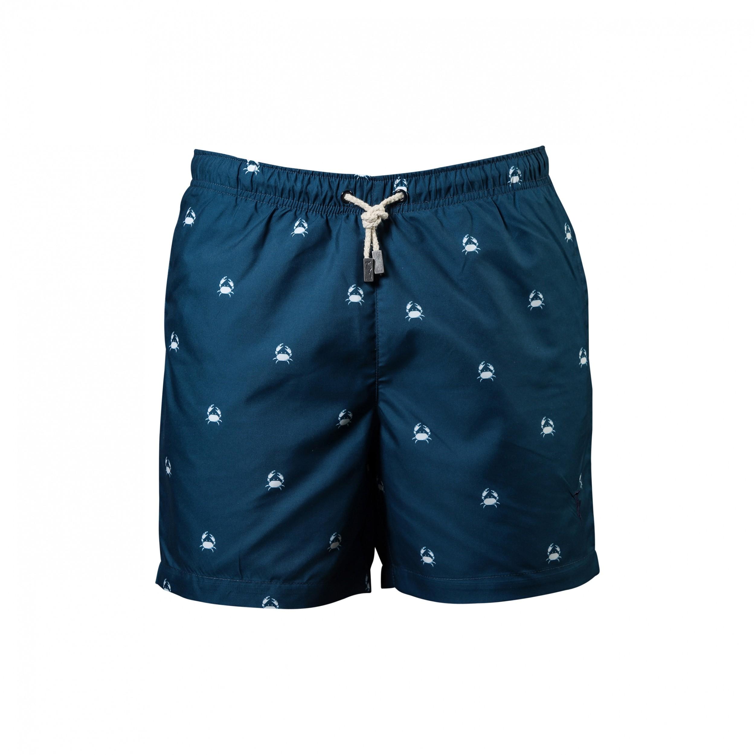 Short de Bain Venice Majolica Crabs Fils
