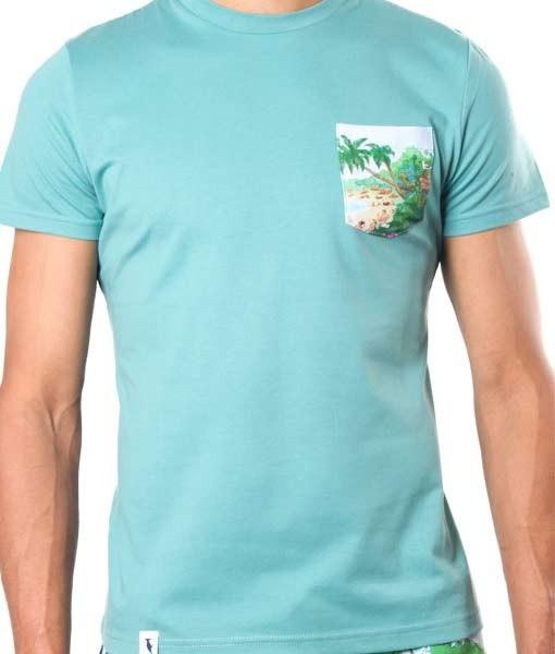 T-Shirt Molokai Groen
