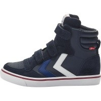 Foto van Hummel sneaker - Stadil leather jr peacoat wi18