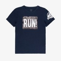 Foto van Name it - Veeg shirt Jurassic blauw wi18