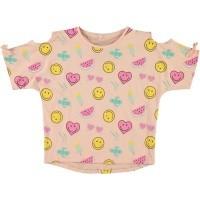 Foto van Name it - t-shirt Sofia peachy zo18