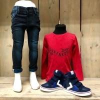 Foto van Name it - Ty skinny powerstretch jeans wi18