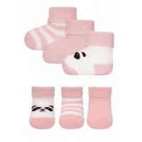 Foto van Ewers - Newborn sokjes roze wi18